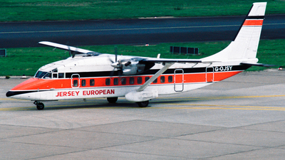 G-OJSY - Short 360-100 - Jersey European Airways