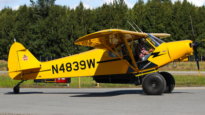 N4839W - Piper PA-18-150 Super Cub - Private