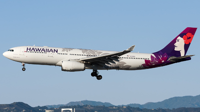 N383HA - Airbus A330-243 - Hawaiian Airlines