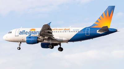 N336NV - Airbus A319-111 - Allegiant Air