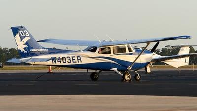 N403ER - Cessna 172S Skyhawk SP II - Embry-Riddle Aeronautical University (ERAU)