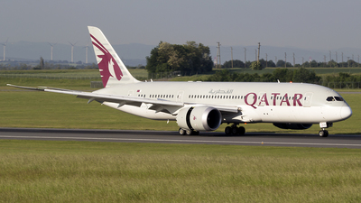 A7-BCB - Boeing 787-8 Dreamliner - Qatar Airways