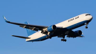 A picture of OYSRV - Boeing 767346F(ER) - Star Air - © Alex Meunier