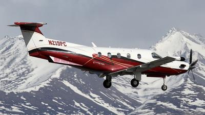 A picture of N219PC - Pilatus PC12/45 - [219] - © Stig Rokkones