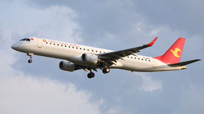 B-3287 - Embraer 190-200LR - Tianjin Airlines