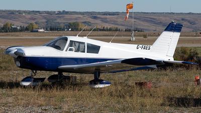 C-FAES - Piper PA-28-180 Cherokee - Private