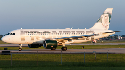 N938FR - Airbus A319-111 - Frontier Airlines
