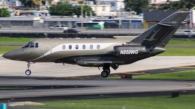 N850WG - Raytheon Hawker 800XP - Private