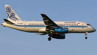 RA-89001 - Sukhoi Superjet 100-95B - Moskovia Airlines