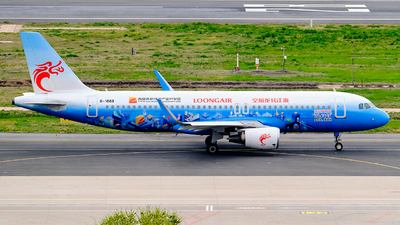 A picture of B1868 - Airbus A320214 - Loong Air - © MingyaoLeonardo