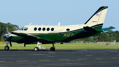 N127U - Beechcraft A100 King Air - Private