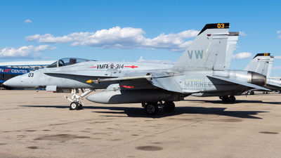 16-3153 - McDonnell Douglas F-18A Hornet - United States - US Marine Corps (USMC)