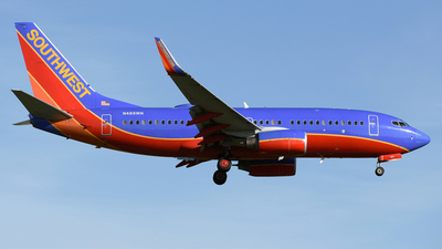 N489WN - Boeing 737-7H4 - Southwest Airlines