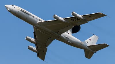 LX-N90454 - Boeing E-3A Sentry - NATO - Airborne Early Warning Force