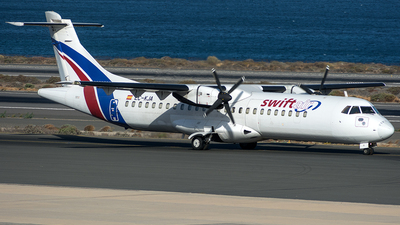 A picture of ECKJA - ATR 72202(F) - Swiftair - © Adolfo Bento de Urquía