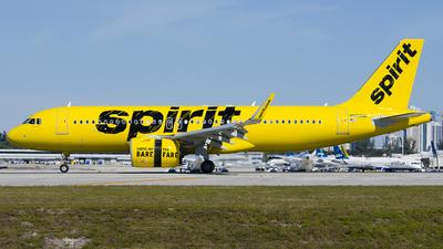 N906NK - Airbus A320-271N - Spirit Airlines