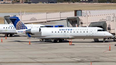 A picture of N693BR - Mitsubishi CRJ200LR - United Airlines - © HA-KLS