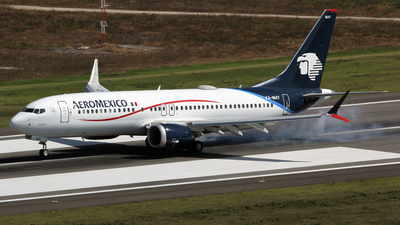 XA-MAT - Boeing 737-8 MAX - Aeromexico