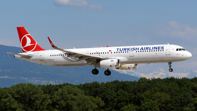 A picture of TCJSP - Airbus A321231 - Turkish Airlines - © Paul Denton