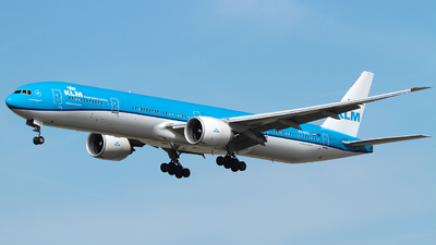 PH-BVS - Boeing 777-306ER - KLM Royal Dutch Airlines