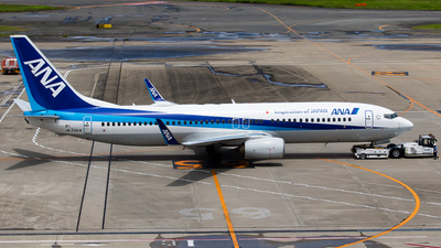 A picture of JA72AN - Boeing 737881 - All Nippon Airways - © H.Hayashi