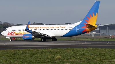 A picture of GJZHL - Boeing 7378MG - Jet2 - © DN280