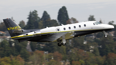 N760ED - Cessna 560XL Citation Excel - Private
