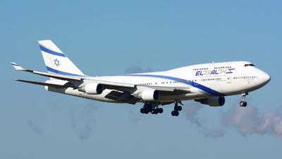 4X-ELC - Boeing 747-458 - El Al Israel Airlines