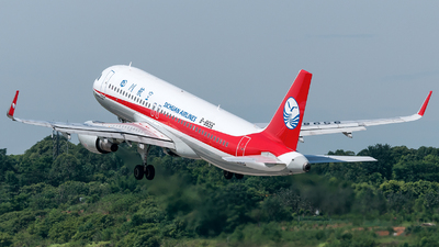 B-8656 - Airbus A320-214 - Sichuan Airlines