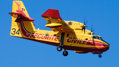F-ZBFX - Canadair CL-415 - France - Sécurité Civile
