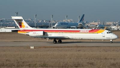 EC-FFH - McDonnell Douglas MD-87 - Iberia