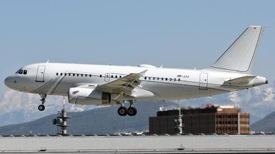 HB-JJJ - Airbus A319-133(CJ) - Nomad Aviation