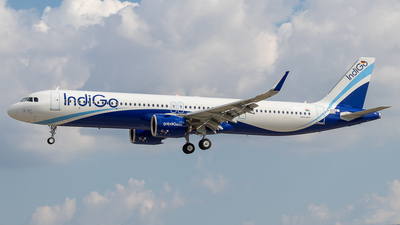 D-AYAZ - Airbus A321-271NX - IndiGo Airlines