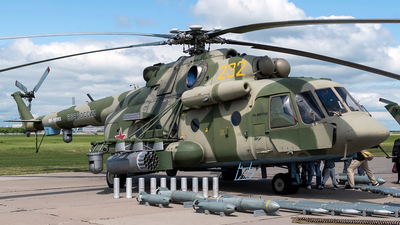 RF-95593 - Mil Mi-8AMTSh Hip - Russia - Air Force
