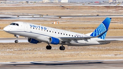 A picture of N605UX - Embraer E175LL - United Airlines - © HA-KLS