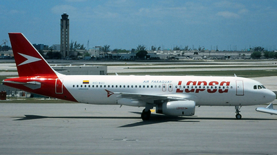 HC-BUJ - Airbus A320-232 - LAPSA Air Paraguay