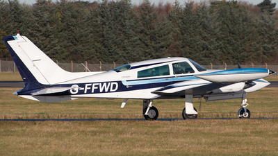 A picture of GFFWD - Cessna 310R - [310R0579] - © Ian McGregor