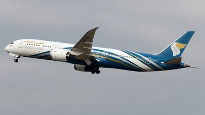 A picture of A4OSD - Boeing 7879 Dreamliner - Oman Air - © Alvin Ho - AHKGAP