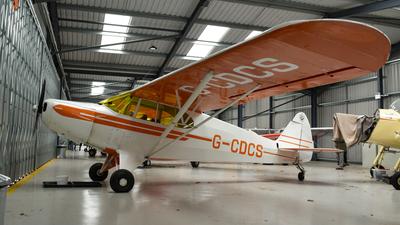 G-CDCS - Piper PA-12 Super Cruiser - Private