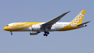 9V-OFD - Boeing 787-8 Dreamliner - Scoot