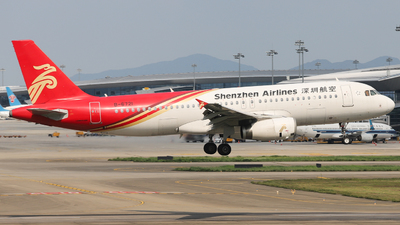 B-6721 - Airbus A320-232 - Shenzhen Airlines