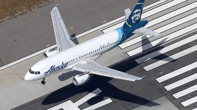 N521VA - Airbus A319-112 - Alaska Airlines