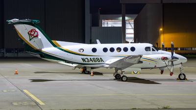 N346BA - Beechcraft 200 Super King Air - Private