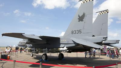 8335 - Boeing F-15SG Strike Eagle - Singapore - Air Force