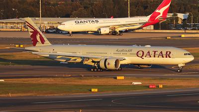 A7-BEW - Boeing 777-3DZER - Qatar Airways