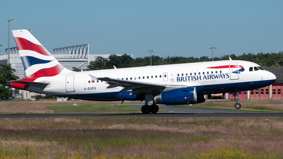 G-EUPG - Airbus A319-131 - British Airways