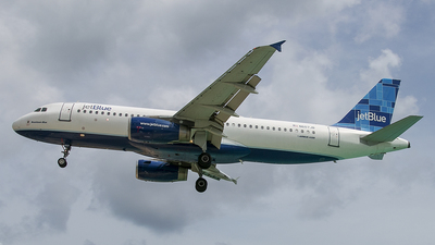 N607JB - Airbus A320-232 - jetBlue Airways