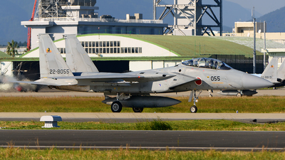 22-8055 - McDonnell Douglas F-15DJ Eagle - Japan - Air Self Defence Force (JASDF)