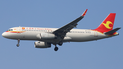 B-1619 - Airbus A320-232 - Tianjin Airlines