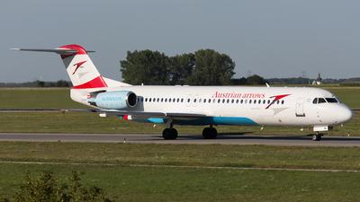 OE-LVI - Fokker 100 - Austrian Arrows